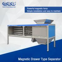 Wholesale Energy Saving Powder Magnetic Separator Machine With Vibrator 380VAC Input from china suppliers