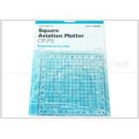 Quality Kearing Aviation Supplies Plastic Square Aviation Plotter Customized logo for sale