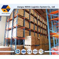 Wholesale Q235 Material Drive In Racking System , Load Capacity  500 - 5000kg / layer from china suppliers