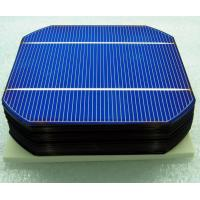 China high efficiency 2.3w-2.9w monocrystalline solar cell 125mm x125mm wholesale