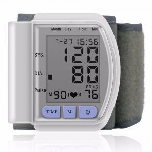 LCD Digital Home Automatic Wrist Blood Pressure Pulse Sphygmomanometer and Tonometer Monitor