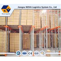 Wholesale Heavy Duty Warehouse Storage Drive In Pallet Racking ISO / CE Approved from china suppliers