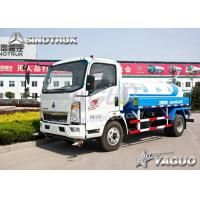 China HOWO 4x2 ENGINE POWER 110HP, WATER VOLUME 3CBM WATER TANKER wholesale