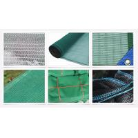 Durable Plastic Green Construction Safety Net for manufacturer