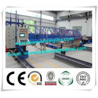 China CNC H Beam Production Line Plasma And Flame Cutting Machine with numerical control system wholesale