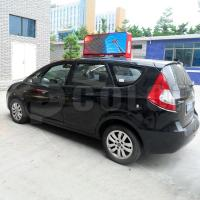 China Mobile advertisement platform for taxis P5mm RGB Double Sided LED Taxi Sign wholesale