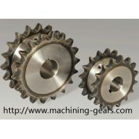 China Vehicle Parts Precision 316 SS Double Chain Sprocket With Heat Treatment wholesale