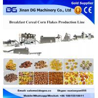 Kellogg Breakfast Cereal Corn Flakes Extruder Machinery Production Plant