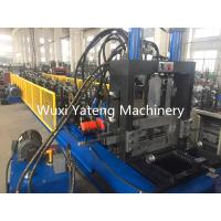 China C - Z Shaped Steel Purlin Roll Forming Machine High Precision Roller Forming Machine wholesale
