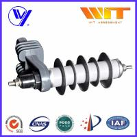 Wholesale 10KA Transformer Substation Zinc Oxide Lightning Arrester With Steel Bracket from china suppliers