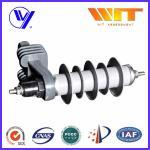 Wholesale 10KA Transformer Substation Zinc Oxide Lightning Arrester With Steel Bracket from china suppliers