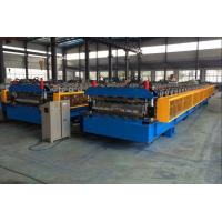 China 5T Roof Panel Double Layer Roll Forming Machine 0.3-0.8mm 18 Stations wholesale