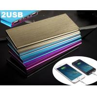 China Multi Function Small Dual Port Power Bank 12000 mAh Fashionable wholesale