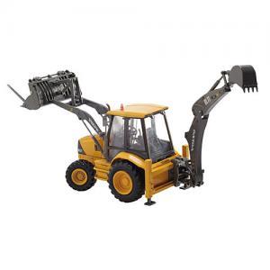 3WD 100 HP sugar cane grab loader