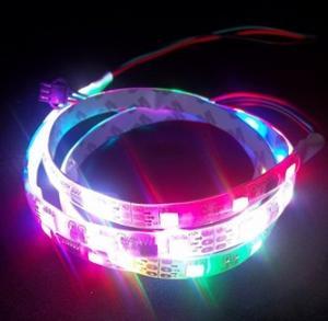 SMD 5050 IP67 Silicone tube Digital flexible led strip light