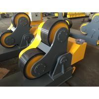 Rubber Wheels Pipe Turning Rolls For Piping Fabricate , Loading Maximum To 40 Ton