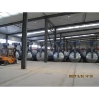 Lightweight Concrete Glass Industrial Autoclave 2.5×31m With 1.6Mpa Pressure
