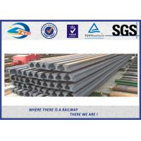 China JIS E Standard 15kg steel crane rail with customized sizes  ZHONGYUE made wholesale