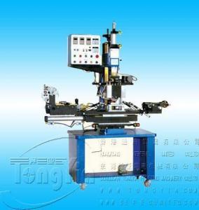 Air Hydraulic flat circular dual heat transfer machine