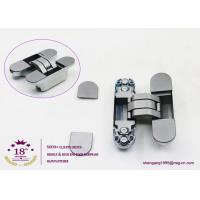 Wholesale 180 degree zinc alloy 3D adjustable concealed gate hinges heavy duty hinges for heavy doors from china suppliers
