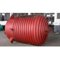 China Half - pipe coiled carbon steel reactor , smooth surface pharmaceutical reactors wholesale
