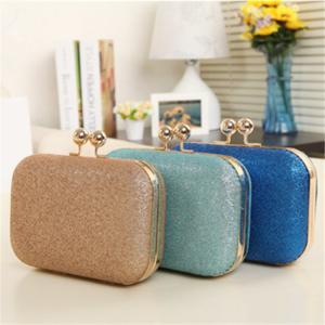 China Multi color optional High quality Glitter material evening bag shoulder bag wholesale wholesale