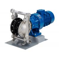China Electric diaphragm pump made of stainless steel double diaphragm inlet | outlet DN80 wholesale