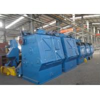 China Critical Cleaning Rubber Track Shot Blaster Machine with PLC Control wholesale