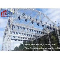Wholesale Arch Shape Aluminum Stage Truss , Outdoor Truss StructureTruss Display Systems from china suppliers