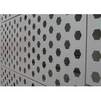 China Vivid Color  Perforated Aluminum Panel PVDF Coating For Cladding Wall Decoration wholesale