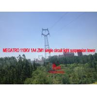 MEGATRO 110KV 1A4 ZM1 single circuit light suspension tower