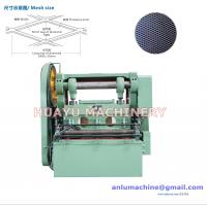 Anlu Huayu Professional High Speed Expanded Metal Mesh Machine JQ25-16 Model