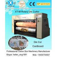 Double Roller Feeding Rotary Die-Cutting Machine For Paperboard / Die Cut Printing