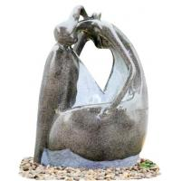 Wholesale Fiberglass Resin Garden Fountains Beautiful Lady Marble Color for Garden Decorative from china suppliers