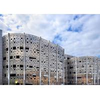China Impressive Perforated Metal Aluminum Panel  For Outdoor Facade/Curtain Wall wholesale