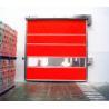 Electric Interior Industrial High Speed Door Automatic Fast Roll Up Door