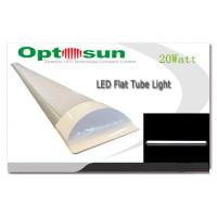 China Flat Indoor Super Bright SMD LED Tubes 20 Watt With 120° Beam Angle wholesale