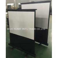 China 80'' New style Projector Screen Portable Pull-up Screen Projection Screen wholesale