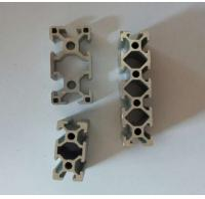 Silvery Anodized Industrial Aluminium Profile
