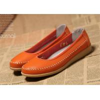 Wholesale Ladies Flats Soft Comfortable Casual Shoes Flat Shoes Women Natural Leather from china suppliers