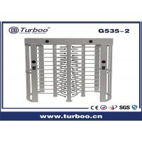Outdoor Full Height Access Control Turnstile Gate With A Direction Indicator