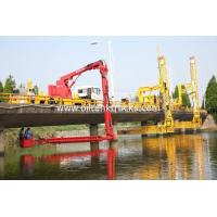 Buy cheap FAW 8*4 Euro 5  Bucket Type  Bridge Inspection Trucks  easy access to any position underbridge from wholesalers