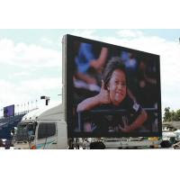 China HD Transparent Truck Mounted LED Screen Rental , Led Advertising Board wholesale