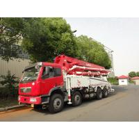 RHD 37m 8x4 FAW 380HP Concrete Pump Trucks with LNG engine
