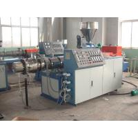 Soft PVC Braided Hose Pipe Making Machine , Plastic PVC Pipe Production Line