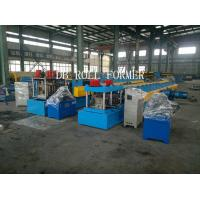 Cr12 Punching materia C Shape Steel Purlin Roll Forming Machine