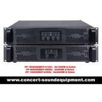Wholesale FP10000Q FP14000 Switch Mode Power Amplifier For Line Array Speaker / Subwoofer from china suppliers