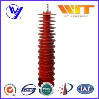 Wholesale 110KV Metal Zinc Oxide Lightning Surge Arrester Used in Substation Over Voltage Protection from china suppliers