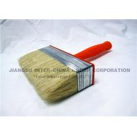 China OEM / ODM Ceiling Wall Paint Brush , Synthetic Bristle Brush With Plastic Handle wholesale