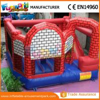 Wholesale 0.55mm PVC Tarpaulin Inflatable Jumping Castles / Princess Castle Bouncer from china suppliers